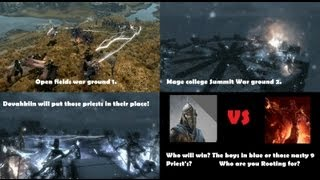 Skyrim NPCWAR 8 Dragon Priest's VS Stormcloaks Army