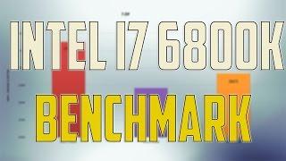 intel i7 6800k vs intel i7 6700k vs intel i7 5820k review benchmark gaming tests win 10