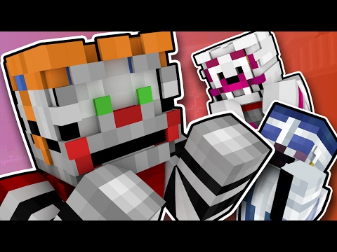 Minecraft Fnaf: Sister Location - Circus Baby Goes Crazy (Minecraft Roleplay)