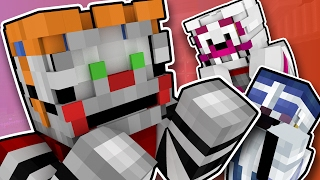 minecraft fnaf sister location circus baby goes crazy minecraft roleplay