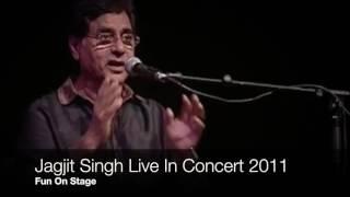 Jagjit Singh Live - Fun on stage in summer 2011