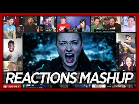 X-Men: Apocalypse Final Trailer Reactions Mashup (Best First Reactions)