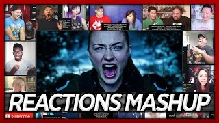 X-Men: Apocalypse Final Trailer Reaction's Mashup (Best First Reaction's)