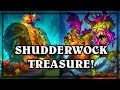 Shudderwock Treasure! ~ Witchwood Hearthstone Heroes of Warcraft