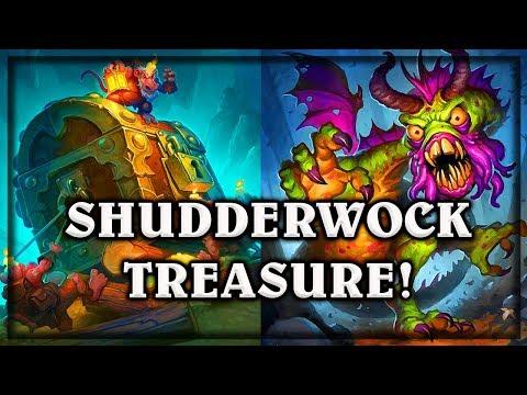 Shudderwock Treasure! ~ Witchwood Hearthstone Heroes of Warcraft