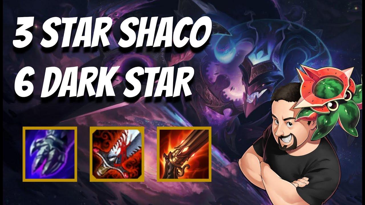 Shaco Carry seems pretty good | TFT Galaxies | Teamfight Tactics