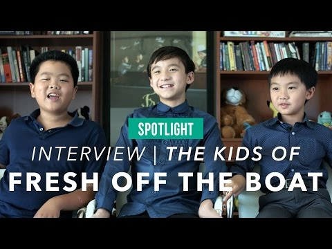 Fresh Off The Boat Kids are brothers on and off camera
