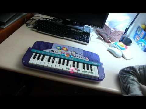 Casio LK-6 keyboard - YouTube