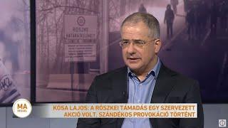 Kósa Lajos: a hatóságok felkészültek a fokozódó migrációs nyomásra a déli határszakaszon