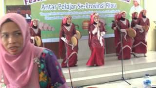 SMAN 2 Dayun Festival Seni Qasidah Rebana Antar Pelajar se-Provinsi Riau 2016
