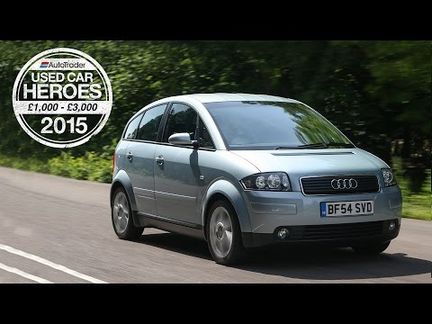 Used Car Heroes: £1,000 - £3,000 - Audi A2