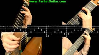Cavatina - John Williams - Stanley Myers  Tab 5/6 www.FarhatGuitar.com