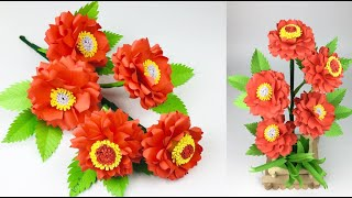 Paper Flowers | Paper Crafts For School | Paper Craft | Paper Flowers Easy | Flower Making | Flowers