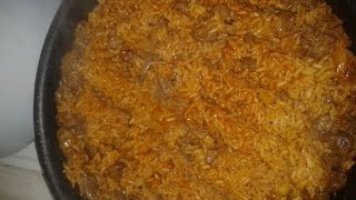 Рис с куриной печёнкой(плов)Рецепт.