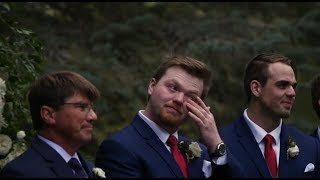 Kevin & Kailee's Windy Lakeville Ceremony