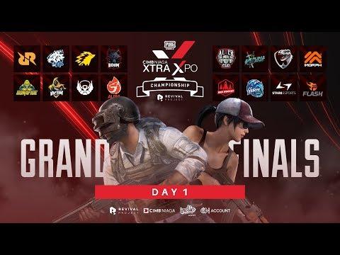 LIVE | CIMB Niaga Xtra Xpo PUBG Mobile Championship [ GRAND FINAL ] - DAY 1