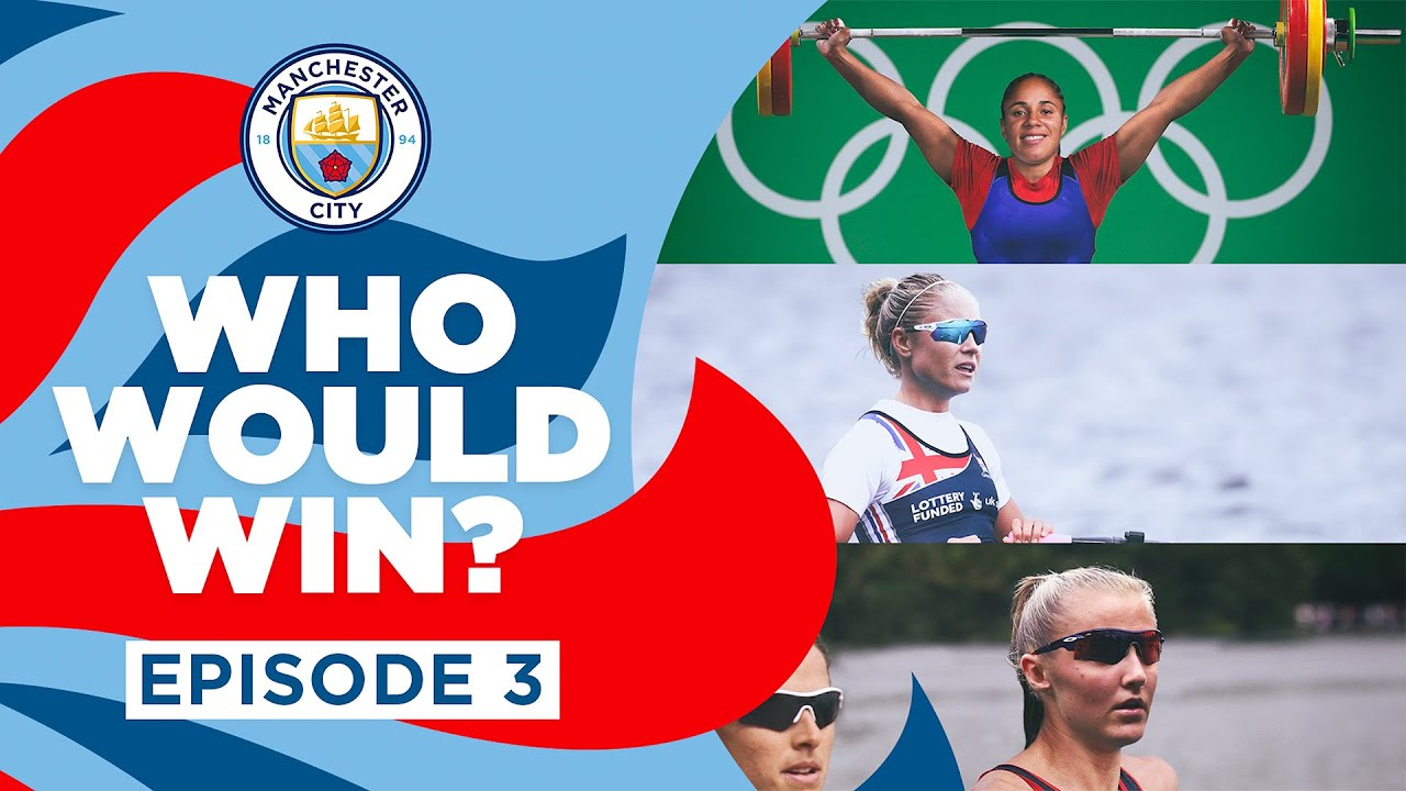 Download WHO WOULD WIN? | Episode 3 | Rowing, Triathlon, Weightlifting