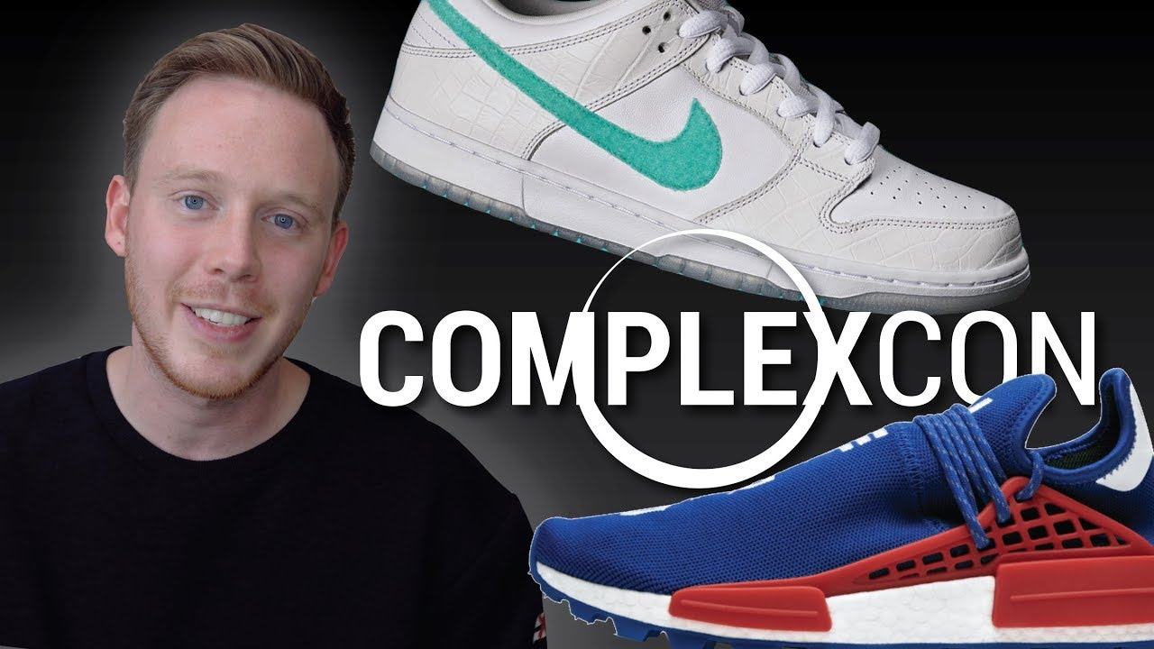 Top Sneakers Releasing at ComplexCon