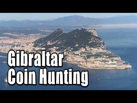 Gibraltar Coin Hunting 1 - Travel Vlog