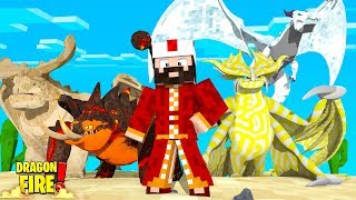 THE SULTAN'S SECRET RARE DRAGON COLLECTION! - Minecraft Dragons
