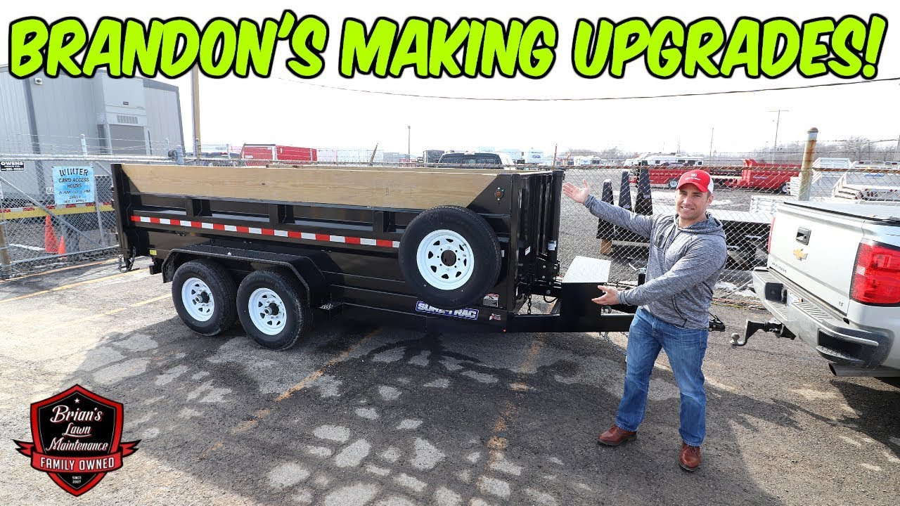 Making Moves! ► Picking Up Brandon's New 7x14 Sure Trac Dump Trailer
