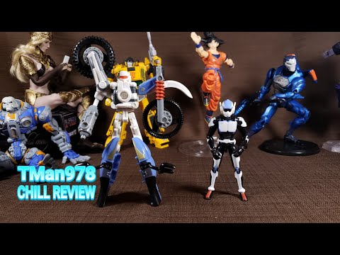 Transformers Energon Kick & High Wire CHILL REVIEW