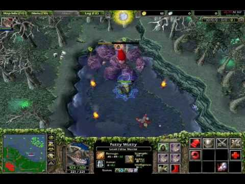 warcraft 3 dota roshan defeated by ursa lvl 1 youtube