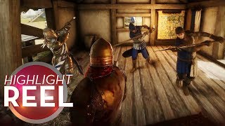 Highlight Reel #480 - Mordhau Knight Wrecks Three Skulls With One Swing
