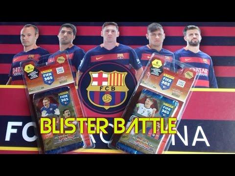 FIFA 365 2017 BLISTER BATTLE - Unboxing!!!