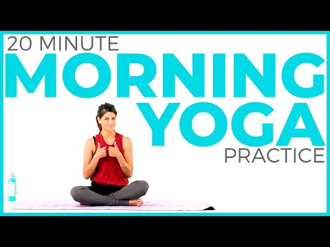Morning Yoga Practice | Mindful Morning Yoga to Start Your Day (20 minutes)