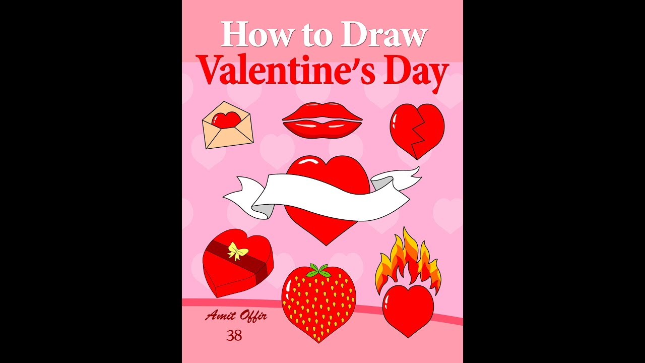 how to draw valentines day greeting cards YouTube – How to Draw Valentine Cards