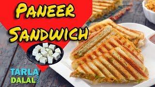 Paneer Sandwich recipe by Tarla Dalal