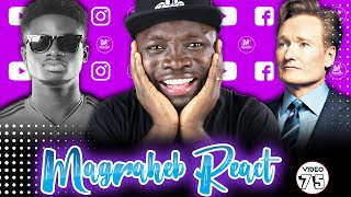 Kuami Eugene & Obroni Conan O'Brien 'We Do This For Love' Video Reaction