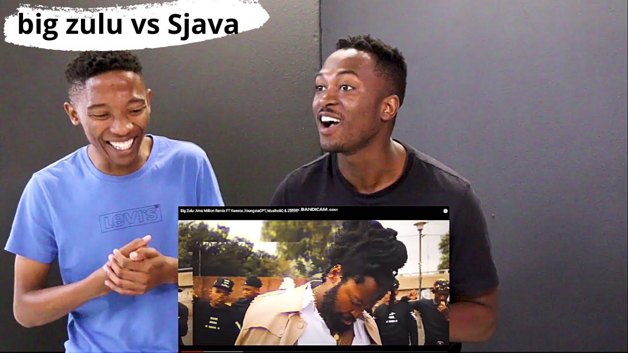 Big Zulu Ama Million Remix Reaction Youtube