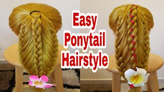 Download EASY PONYTAIL HAIRSTYLE