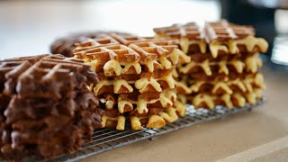 Belgian Waffles Recipe - Bruno Albouze - THE REAL DEAL