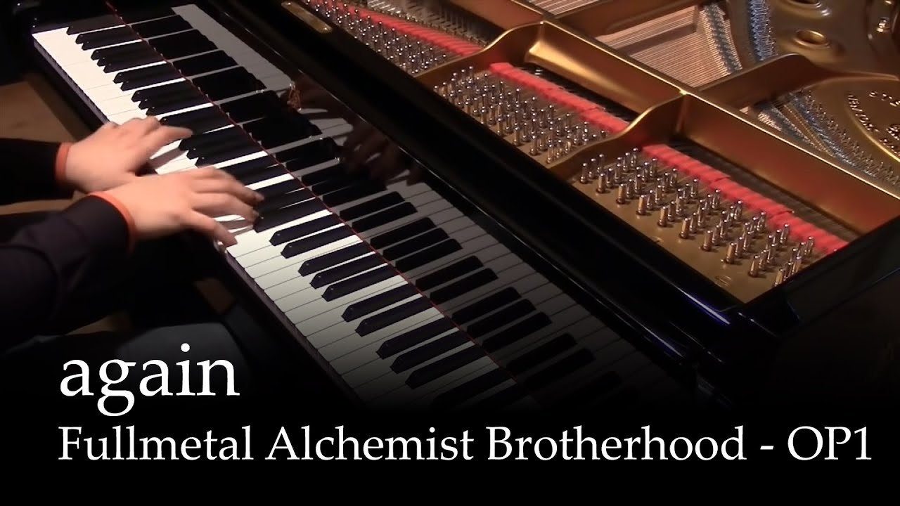 Again fullmetal alchemist brotherhood op1 piano youtube for Pianificatore di piano