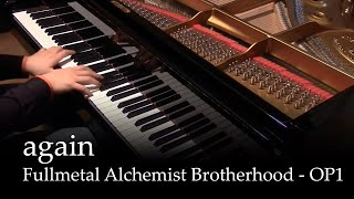 Again - Fullmetal Alchemist Brotherhood OP1 [piano] thumbnail