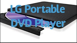 Portable DVD Player by LG