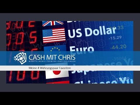 Meine 4 Währungspaar Favoriten