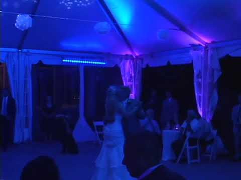 Connecticut Wedding  Eolia Mansion Wedding lighting by Correlation Productions