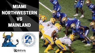 🔥Miami Northwestern VS Mainland (FL) - PLAYOFF game - BIG plays!