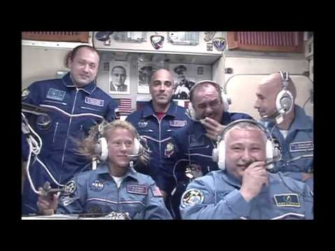 New ISS Crew Members Welcomed!