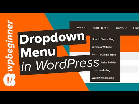 How to Create a Dropdown Menu in WordPress Beginners Guide