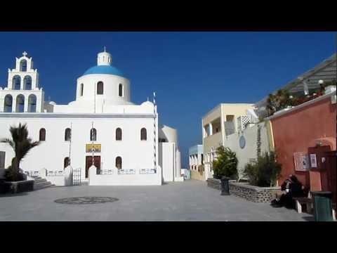 Church of Panagia, Oia, Santorini, Cyclades, Greece, Europe