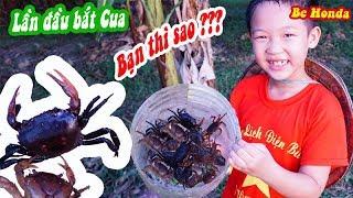 Catching crabs in the field   Trò chơi Bắt Cua ngoài đồng rất thú vị