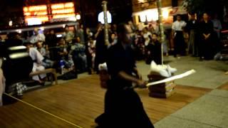 Samurai show HAKO Town
