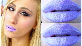 HOW TO: PASTEL LAVENDER LIPS [DRUGSTORE]  | DYNA ❤