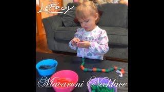 Lefroy - Macaroni Necklace Lyric