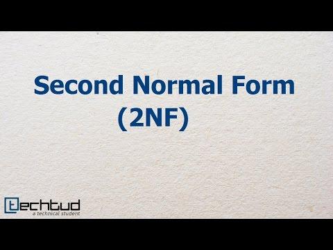 Second Normal Form   Database Management System